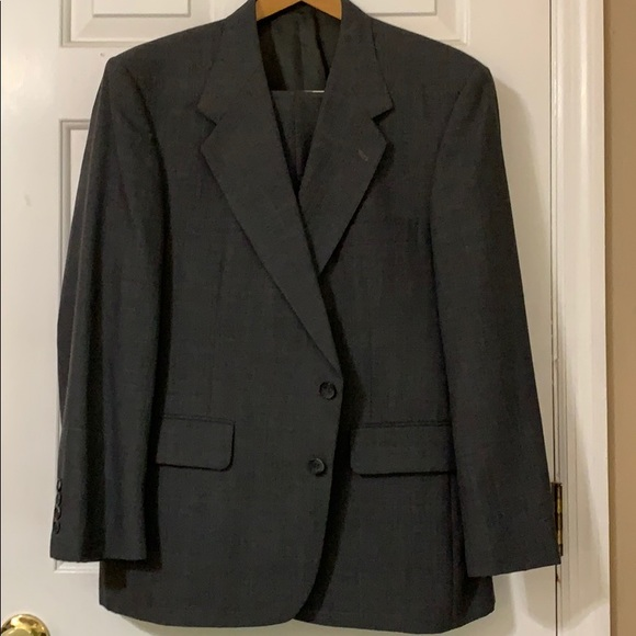 """Stafford Other - Stafford Suit Gray 36"""" pants 24"""" jacket sleeves"""